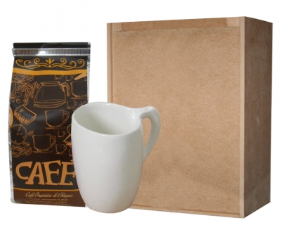 Set de Café Taza Oval