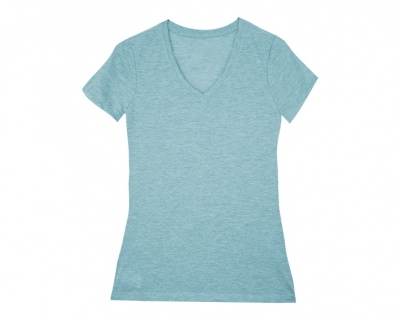 Playera Lady de Botellas Azules