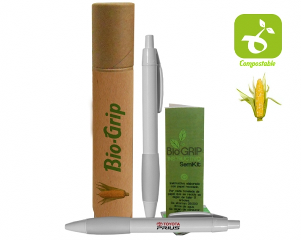 Pluma Biodegradable
