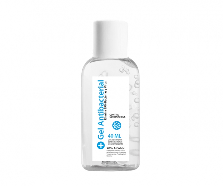 Gel Antibacterial de 40 ml